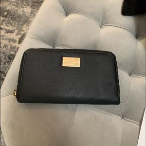 NEW Leather Nanette Lepore ZIP Wallet